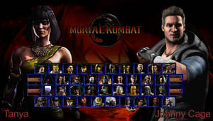 Mortal Kombat 11 - My Roster by DENDEROTTO
