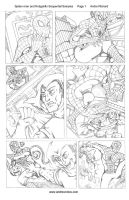 Spider-man and Hobgoblin Page 1 Sequential Sample by AndrePaploo