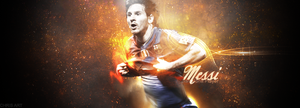 Lionel Messi-Barcelona by ChrisEXP