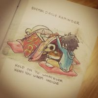 BAYMAX DAILY REMINDERS: Hold On by peore