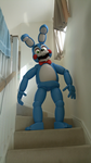 Toy Bonnie in REAL LIFE!! by TickTockGJ