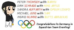 2012 Olympics-GER Equestrian Team Eventing by SonicFan3