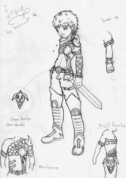 Frey concept from Lost Tales by Bahamut2