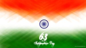 india 63 independence day by desig9