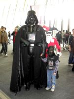 Mini-Vader by theprincessbee