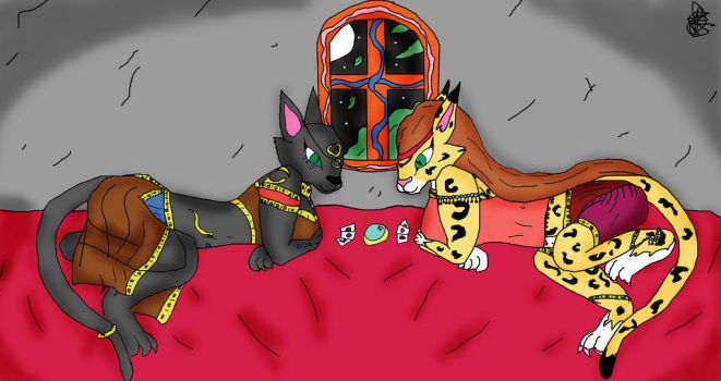 Laying down the Aces by FireballStardraco