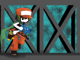 Quote On Duty - Cave Story by TheMadLocust