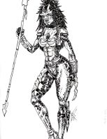 Female Warrior by Luxuria-Dementia13