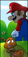 Terrible Life of Goombas by RatchetMario