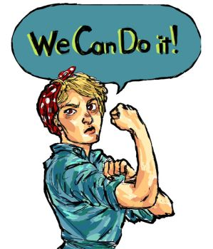 We Can Do It! by Cabout