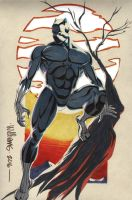 Black Panther commission for Seth by BroHawk