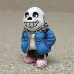 sans the sculpture by NamelessOkami