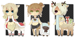 [CLOSED] Winter Taur Adopts by WanNyan