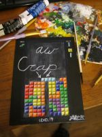 Aw Crap: THE GAME...of tetris by splattermusic
