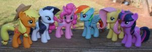 My Little Pony Friendship is Magic Custom Set by Ralfskunk