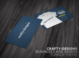 crafty-designs Business Card by xtotallybored