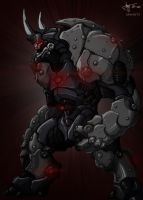 Biomech Rhino by dorets