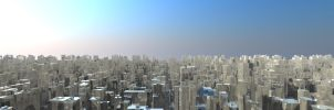 Shiny City Panorama by Siccie