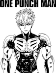 Genos The Demon Cyborg (One Punch Man) by RobertoJOEL1307