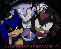 Five Night at Sonic's by IdalYaoiSonic1344