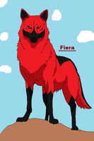 Fiera Proud And Mighty by Zelda-Wolfy