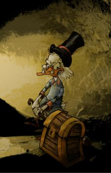 Scrooge by inkycharland
