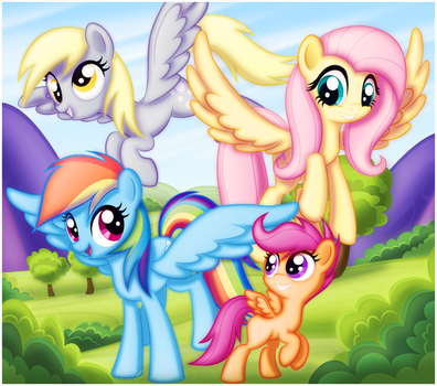 Good Day Pegasi by CTB-36