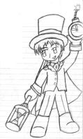Tuxedo Time Magician by BlueLineProductions