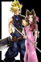 Old FFVII pic by SketchSchmidt-Art