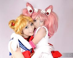 sailor moon y chibiusa cosplay by Loky-Roc