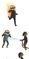 daft punk comic what by jjunkyard