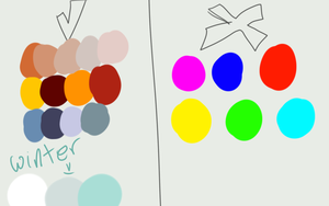 examples :  Faellin's Colors by iHazelis