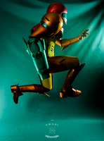 Samus Cosplay - High Jump by d-slim