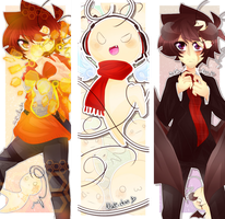 Crycest: Everlasting - Bookmarks [Set2] by Nadi-Chan