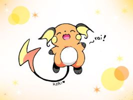 raichu again by KoriArredondo