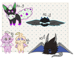 PKMNation - CATS AND STUFF CLUTCH [CLOSED] by starryraindrops