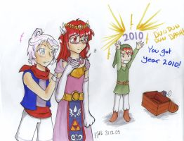 New Year cosplay party by Ultipoter