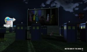 Doctor Who at the Drive-In by Dani3D