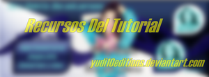 Recursos Del Tutorial by yudi10editions
