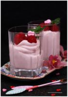 Learn How To Make This Delicious Raspberry Mousse by theresahelmer