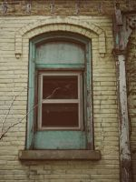One Blue Window by nowhere-usa