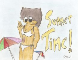 Summer time! by gatox35