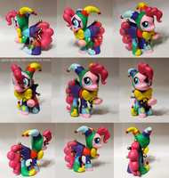 crystal fair jester Pinkie pie by AplexPony