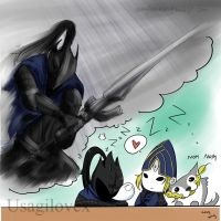 Artorias Dreams by UsagiLovex