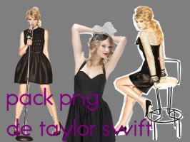 Pack png de Taylor Swift by Princessbieber