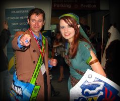 Link and the 10th Doctor by AuberyMirkwood