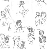 Baby Baudulaire sketches by vbabe1