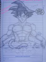 Goku's Bath by Lord-Sevy