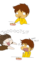 I can haz tots COLORED by Princess-Hanners