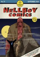 TLIID Cover homage Hellboy on Detective Comics 31 by Nick-Perks